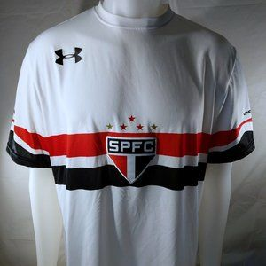 Under Armour Sao Paolo FC Soccer Jersey Brazil